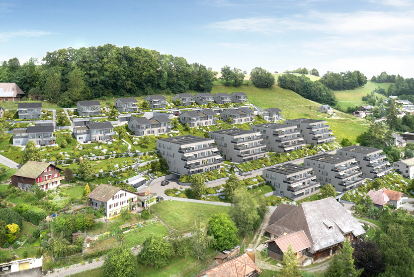 Energiequartier Hohlen Huttwil