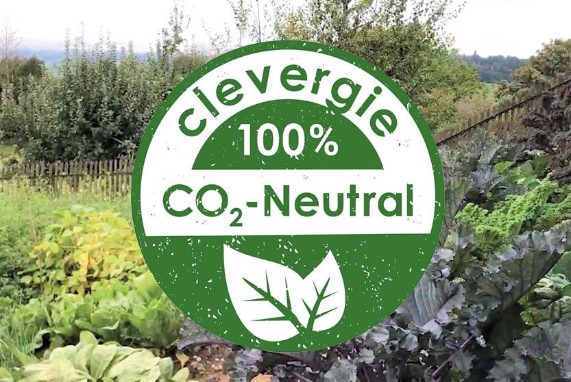 clevergie ist CO2-Neutral unterwegs